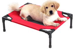 Wholesale Pet Beds Collapsible Beds Pet Beds Fashion Pet Collapsible and Breathable Beds Hot Dogs Canvas and Portable and Comfortable Beds