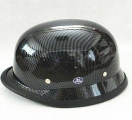 Wholesale Casco del casco del casco de la motocicleta y el galjanoplastia AHP Halley alemán Stahlhelm Príncipe Halley medio envío libre
