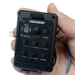 Wholesale Fishman presys dual mode hybrid guitar amp EQ Tuner Piezo pickups balanced system microphone playing board stock