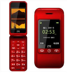 Wholesale ZTE ZTE L588 clamshell old mobile phones big word loudly the old machine with the elderly men and women