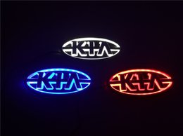 New 5D Car Logo LED light For KIA K5 Forte CERATO SOUL SORENTO Auto standard Badge Lamp Special modified Decorative lights