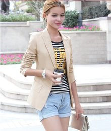2015 New Fashion Women Slim Coat Long Sleeve female Outerwear Casual Jackets coat NZ031
