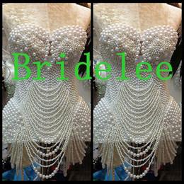 Wholesale Beautiful White Pearl White Prom Dresses Mini Sweetheart Sleeveless Short Dresses Party Evening New Design