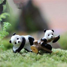 Wholesale David Panda Moss Micro Landscape Tree Ornaments DIY Assembling Small Toys Home Gardening Decoration