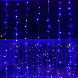 Wholesale 5M x 3M 500 LED Fairy String Curtains Light Ideal for Indoor Outdoor Home Garden Christmas Party Wedding 110V-240V