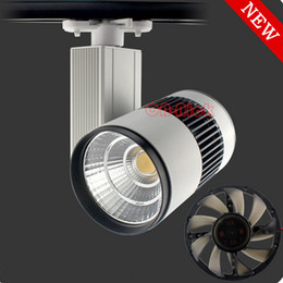 30W 40W 50W cob track light with high quality light spot for shop department store commercial lighting warm cool white optional