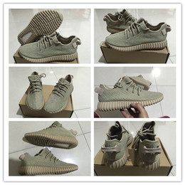 Wholesale Authentic Original Kanye West Yeezy Boost Light Stone Oxford Tan Light Stone AQ2661 Sneakers Men s Sports Running Shoes