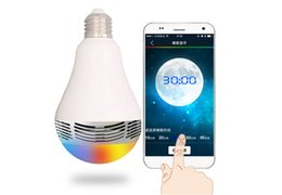 Bluetooth Smart LED Light Bulb Speaker Multi-Function Wireless Stereo Speakers High Quality Wireless Portable Bluetooth Speaker