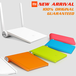 Wholesale Original Xiaomi White Black Blue Orange Router Mini mi router dual band GHz GHz Maximum mbps support Wifi AC