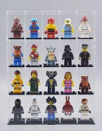 Wholesale Private customized Shangzhi toys acrylic display box assembled LEGO Lego custom model