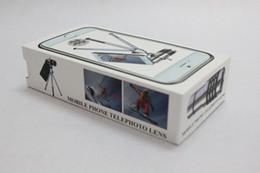 Wholesale-Newest High quality 12X Optical Zoom Telescope Camera telephoto Lens For iphone 6   6 plus,10pcs lot