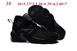Wholesale Super AAA Kids basketball shoes cost prices sale built in cushion sneakers colors Eu36 fast