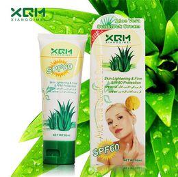 Wholesale XQM Vitamin C Sunblock Cream Face makeup Foundation Primer Skin Lightening Firm SPF Protection concealer Cream