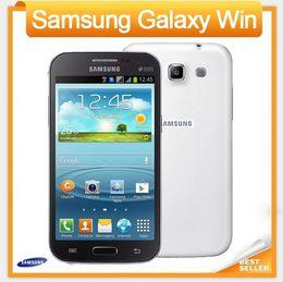 Wholesale Unlocked Original Samsung galaxy win I8552 phone refurbished Android Wifi GPS G Quad Core GB RAM One Year Warranty