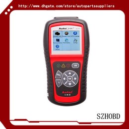 Wholesale auto scanners Code Reader OBD OBD2 Autel AutoLink AL519 OBDII And CAN Scanner Tool supports all modes of OBDII test DHL free