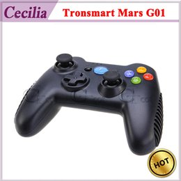 Wholesale 50pc DHL G Wireless Game Controller Tronsmart Mars G01 For Android TV BOX MINI PC WINDOWS PC PS3 KINDLE FIRE Plug Play
