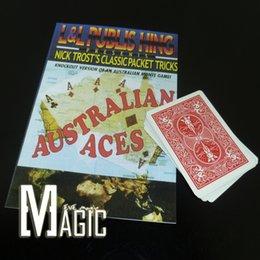 Wholesale Australian Aces L amp L Nick Trost close up card magic tricks products toys
