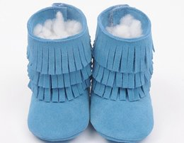 suede genuine leather baby moccasins tassels boot booties children double layer fringe moccasins moccs girls 3layer fringe tassel boots
