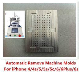 Wholesale Automatic remove cleaning residues OCA LOCA glue machine LCD CNC Metal Mold For iPhone S S C Plus S PLUS