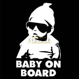 Wholesale Fashion Lovely Kids Baby on Board Carlos Hangover funny Reflective Waterproof car vinyl sticker decal adhesive sticker