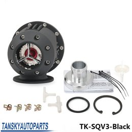 Wholesale Universal HKS SQV3 SQV SSQV Bov Turbo Blow Off Valve Bov with Adapter Flange black copy TK SQV3 Black