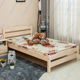 Children Solid Wood Bed cute little boy and girl twin Bed modern furniture, children's bedroom
