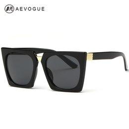 Gafas de diseño fresco en venta-AEVOGUE Gato fresco gafas de sol de los ojos de las mujeres del estilo de Summer Sun Glasses diseñador de la marca de la vendimia Gafas Gafas de Sol UV400 AE0268