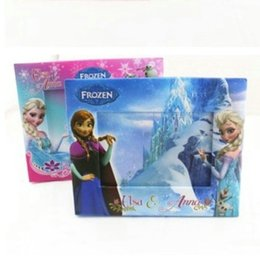 Wholesale Frozen photo Frame christmas gift Elsa Anna princess Olaf Cartoon Home Decorate picture Frames Table Decoration gifts for children kid hot