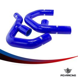 Wholesale PQY RACING RADIATOR SILICONE INTERCOOLER PIPE HOSE KIT FOR VW GOLF MK5 JETTA GTI FSi TDI BL PQY SG6302BL