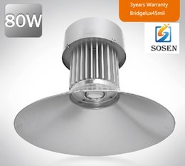 Wholesale 80w High Bay Light LED factory light industrial light SAA UL Approval Sosen Driver bridgelux mil lm DHL