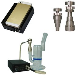 Wholesale Smart ENAIL Digital E Nail Electric Box for mm and mm male mm and mm female glass water pipe bong