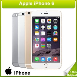 Wholesale DHL Refurbished Apple Iphone without fingerprint G ROM G network inch inch Smart phone