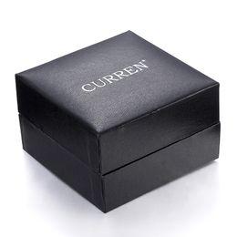 Wholesale Supply Karyn luxury watch and clock parts box black simple box gift box