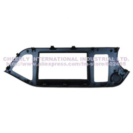 Wholesale Kia Picanto Stereo - Free shipping 2 Din Car Radio Frame for KIA Morning Picanto LHD Installation Kits Facia Plate DVD Panel Stereo Kit Fascia Panel