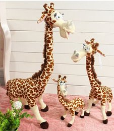 Wholesale Animated film Madagascar sika deer The giraffe Melman plush toy doll