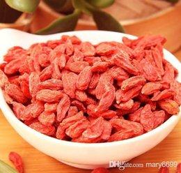 Wholesale Ningxia pure goji kg berries certified organic Chinese Medlar healthy goji berry best food to eat dried fruit in blooming tea