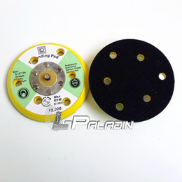 Wholesale 5 quot M8 Air Sander Back up Pad for Hook Loop Sanding Disc with holes
