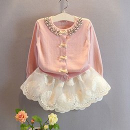 Wholesale latest baby sweater design knit sweater for girls