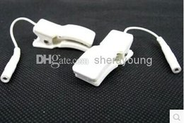 Wholesale Electric Shock Ear Therapy Clips Clamps Accessories for TENS EMS Machine BDSM Bondage Sex Games Toys