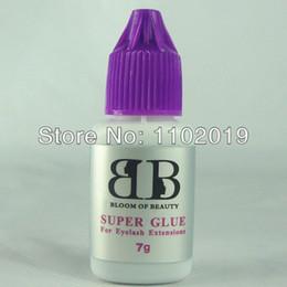 Wholesale-free shipping high quality Korea eyelash extensions glue makeup eyelash glue super glue 7g bottle