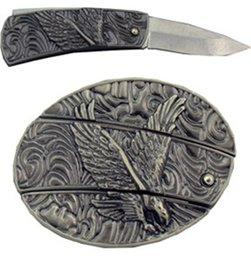 Wholesale Antique Eagle Knife Belt Buckle Cool Hip