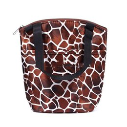 Wholesale-Hitwise cheaper Thermal Cooler Portable Picnic Lunch Box Tote Bag Purse Insulated Organizer Case Most popular