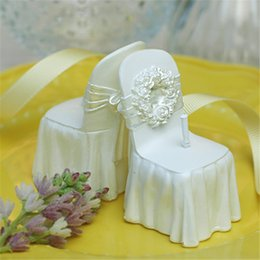Wholesale Wedding Suit Chair Candles Wedding Gifts Wonderful Workmanship Art Candles Crafts Candles Handmade For Wedding Party In Stock