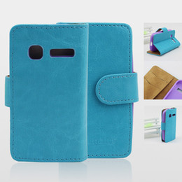 Stand Glossy Leather Case For Alcatel One Touch Pop C1 OT 4015 4015D Phone Case With Credit Card Hole