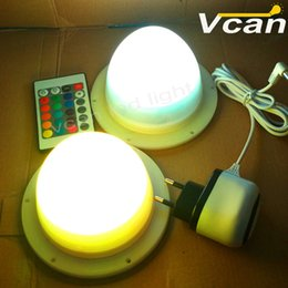 Wholesale DHL new products rgb multi colors remote cordless lighium battery operated rechargeable led furniture lighting