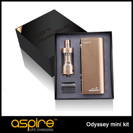 Aspire pegasus en venta-Auténtico Aspire Odyssey Mini Kit con 50W Aspire Pegasus Mini TC Mod y 2ml Aspire Tritón Mini E Cig Kit Libre DHL
