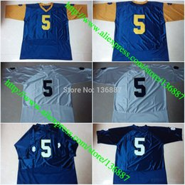 Factory Outlet- 2015 New Norte Dame Fighting Irish #5 Everett Golson NCAA College Football Jerseys High Quality Stitched Jersey Free Shippin