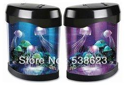 Wholesale Day gift electronic jellyfish aquarium lamp