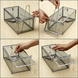Wholesale High Sensitivity Mouse Rat Mice Live Trap Cage Control Rodent Animal Catch Baits
