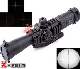 Wholesale Hot sale X32BE Mil Dot Deer Hunting Rifle Scope mm Rail MOUNTS outdoor sports gun